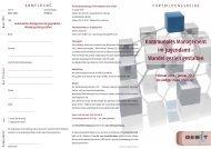Kommunales Management im Jugendamt – Wandel gezielt gestalten