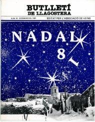 Desembre 1981 - Arxiu - LLAGOSTERA