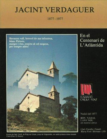 1 - Fundació Lluís Carulla