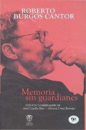 Memoria. SIn guardianes - Biblioteca Nacional de Colombia
