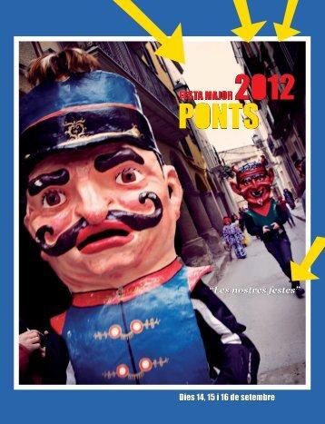 El Llibre de la Festa Major (9MB) - Consell Comarcal de la Noguera