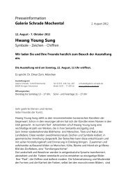Hwang Young Sung - Galerie Schrade