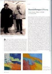 Shmuel Shapiro und Ewald Karl Schrade bei der ... - Galerie Schrade