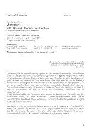 Otto Dix und Eleonore Frey Hanken - Galerie Schrade