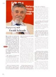Interview mit Ewald Schrade - Galerie Schrade