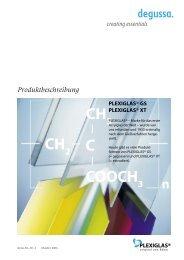 plexiglas ® gs