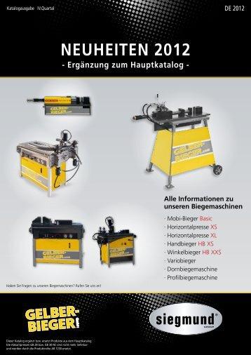 zum Flyer - Gelber-Bieger GmbH