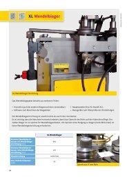 XL Wendelbieger - Gelber-Bieger GmbH