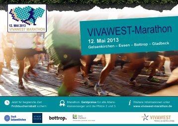 VIVAWEST-Marathon - Stadt Gelsenkirchen
