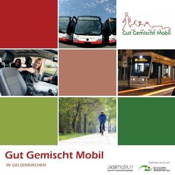 Broschüre Gut gemischt mobil - Stadt Gelsenkirchen
