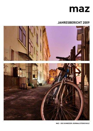JAHRESBERICHT 2009 - MAZ