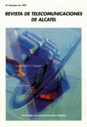 revista de telecomunicaciones de alcatel - Archivo Digital del COIT