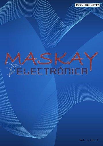 Noviembre 2011 - Revista Maskay-Electrónica - Escuela Politécnica ...