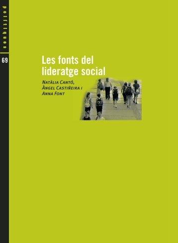 Les fonts del lideratge social