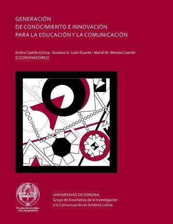 Generación de Conocimiento e Innovación para la Educación y la ...