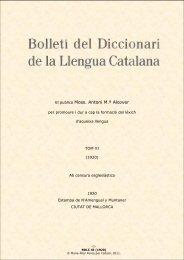 BDLC XI - Institut d'Estudis Catalans