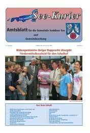 Bildungsminister Holger Rupprecht übergibt Fördermittelbescheid ...