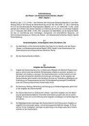 """und Abwasserzweckverbandes """"Nieplitz"""" - Gemeinde  Seddiner See"""