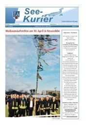 Ausgabe - Nr.05 vom 21. Mai 2012 - Gemeinde Seddiner See