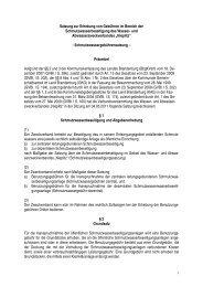 Schmutzwassergebührensatzung - Gemeinde Seddiner See