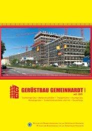 PDF Dokument anzeigen - Gerüstbau Gemeinhardt GmbH