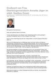Ansprache OB Essen - Gemeinsam gegen Kaelte