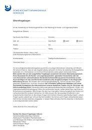 Elternfragebogen - Gemeinschaftskrankenhaus Herdecke