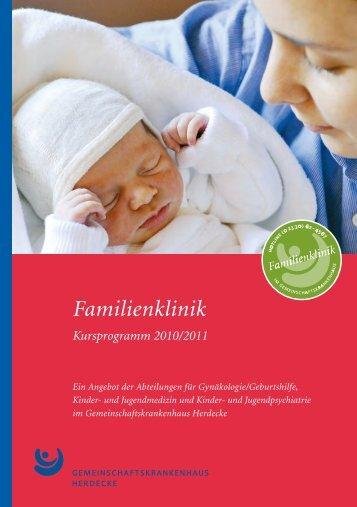 Familienklinik - Gemeinschaftskrankenhaus Herdecke