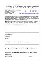 Fax-Anmeldung Früh-Reha 10.05.11 - Gemeinschaftskrankenhaus ...