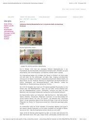 Jubiläums-Rollstuhlbasketballturnier im Gemeinschafts ...