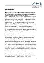Pressemitteilung Sehr gute Noten für die Anthroposophische ...