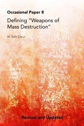 "Defining ""Weapons of Mass Destruction"""
