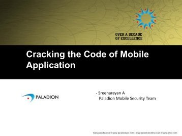 Cracking the Code of Mobile Application