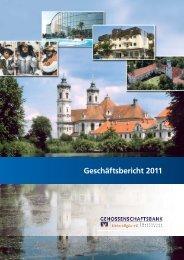 Geschäftsbericht 2011 - Genossenschaftsbank Unterallgäu eG