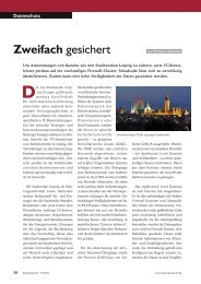 Zweifach gesichert, Kommune21 09/2011 (PDF) - GeNUA