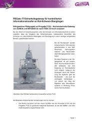 RSGate auf der Fregatte F 124, Case Study (PDF) - GeNUA