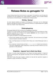 Release-Notes zu genugate 7.3 - GeNUA