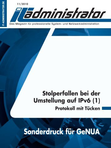 Workshop Teil 1 (PDF) - GeNUA