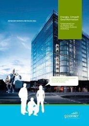 Broschüre und Programm (.pdf) - geomer GmbH