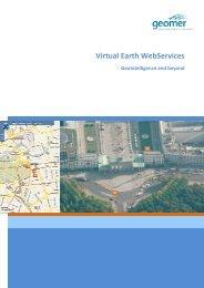 Virtual Earth WebServices - geomer GmbH