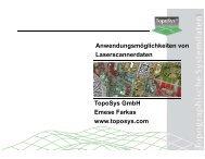 Anwendungsmöglichkeiten von Laserscanmodellen - geomer GmbH