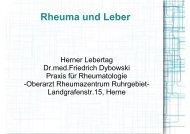 Rheuma und Leber