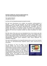 Patienten-Aufklärung und Einverständiserklärung über die ...