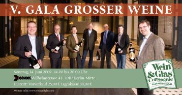 V. GALA GROSSER WEINE - Weingut Georg Mosbacher