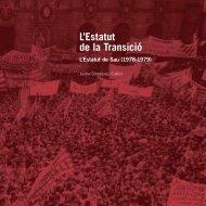 L'Estatut de la Transició. L'Estatut de - Parlament de Catalunya