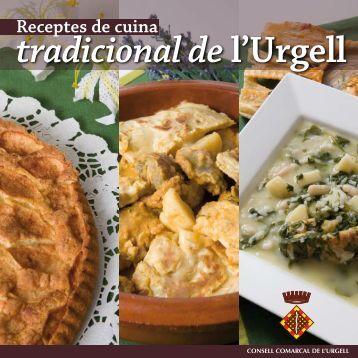 Receptes de cuina tradicional del'Urgell - Ara Lleida