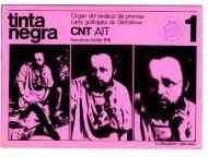 CNT 'AIT - Projecte: L'anarcosindicalisme a Catalunya del 1976 al
