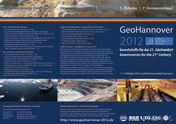 GeoHannover - Geothermie