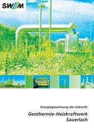 Geothermie-Heizkraftwerk Sauerlach
