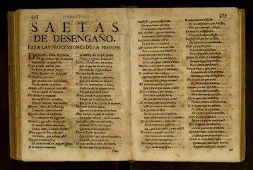 Saetas de Desengaño, Quatro Consideraciones ... - cdigital